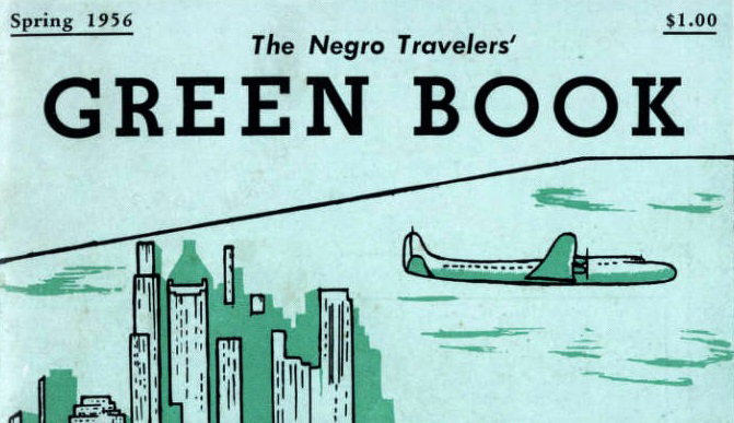 The cover of the Negro Travelers' Green Book from Spring 1956.