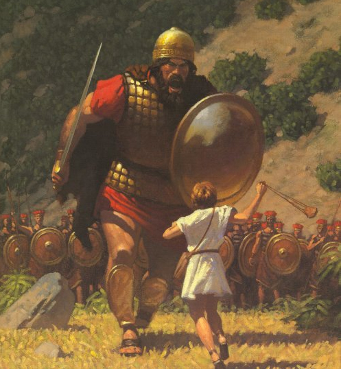 David And Goliath- The underdog can win 2