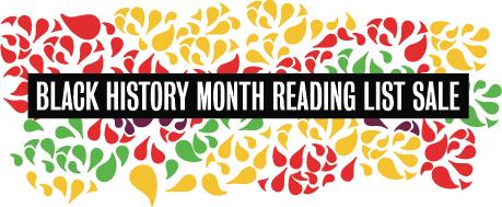 Black History Month Reading List Sale