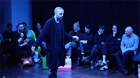 Melbourne Fringe performance