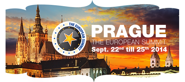 The European Summit. 22nd to 25th of September. Park Hotel Praha.