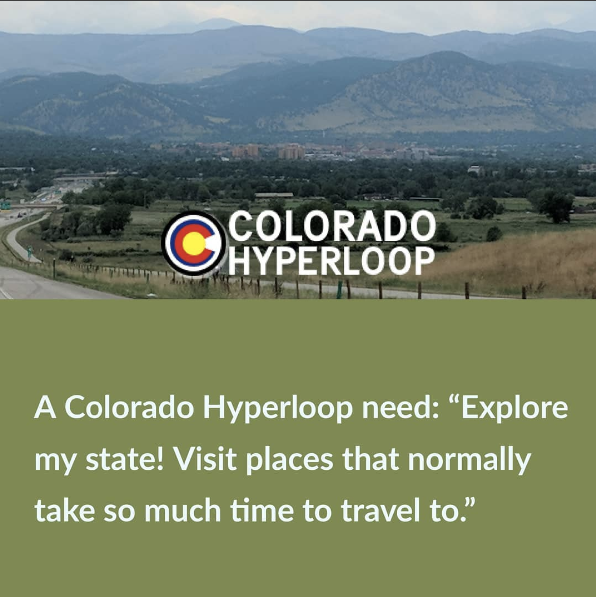 Explore my state! Visit places that normally take so much time to travel to.""
