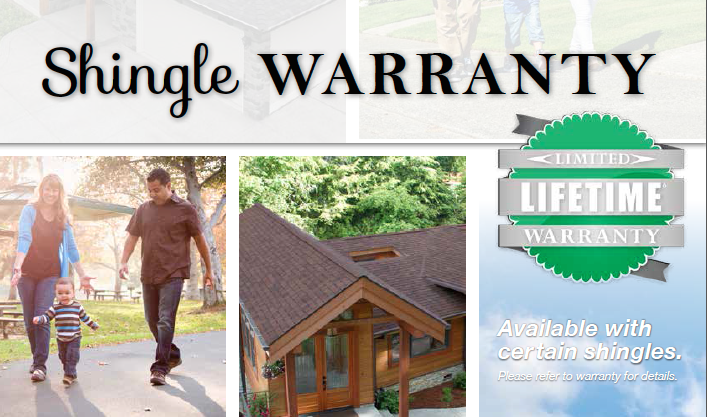 Malarkey Limited Lifetime Shingle Warranty