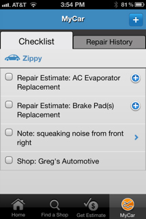 RepairPal Mobile MyCar Sponsored: Repair Pal App Keeps You Moving