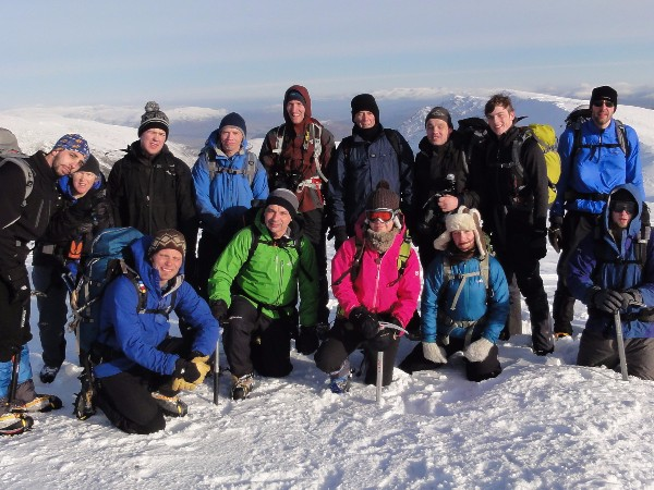 A history of Scotland winter mountaineering trips - The Mountain People