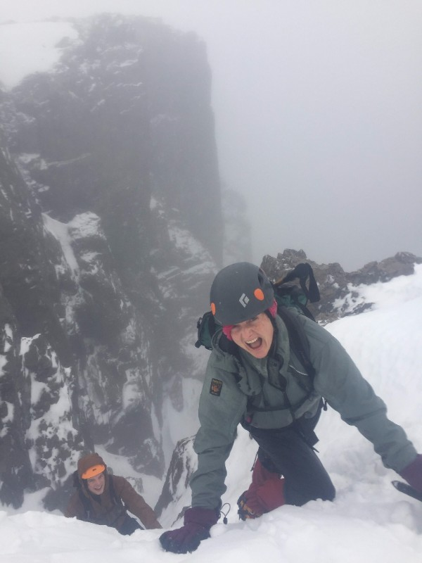 Scotland winter mountaineering trip 2017: Day 2, Ben Nevis - The Mountain People