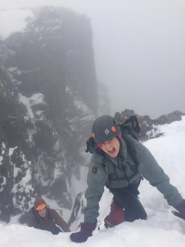 Scotland winter mountaineering trip 2017: Day 2, Ben Nevis - The Mountain People