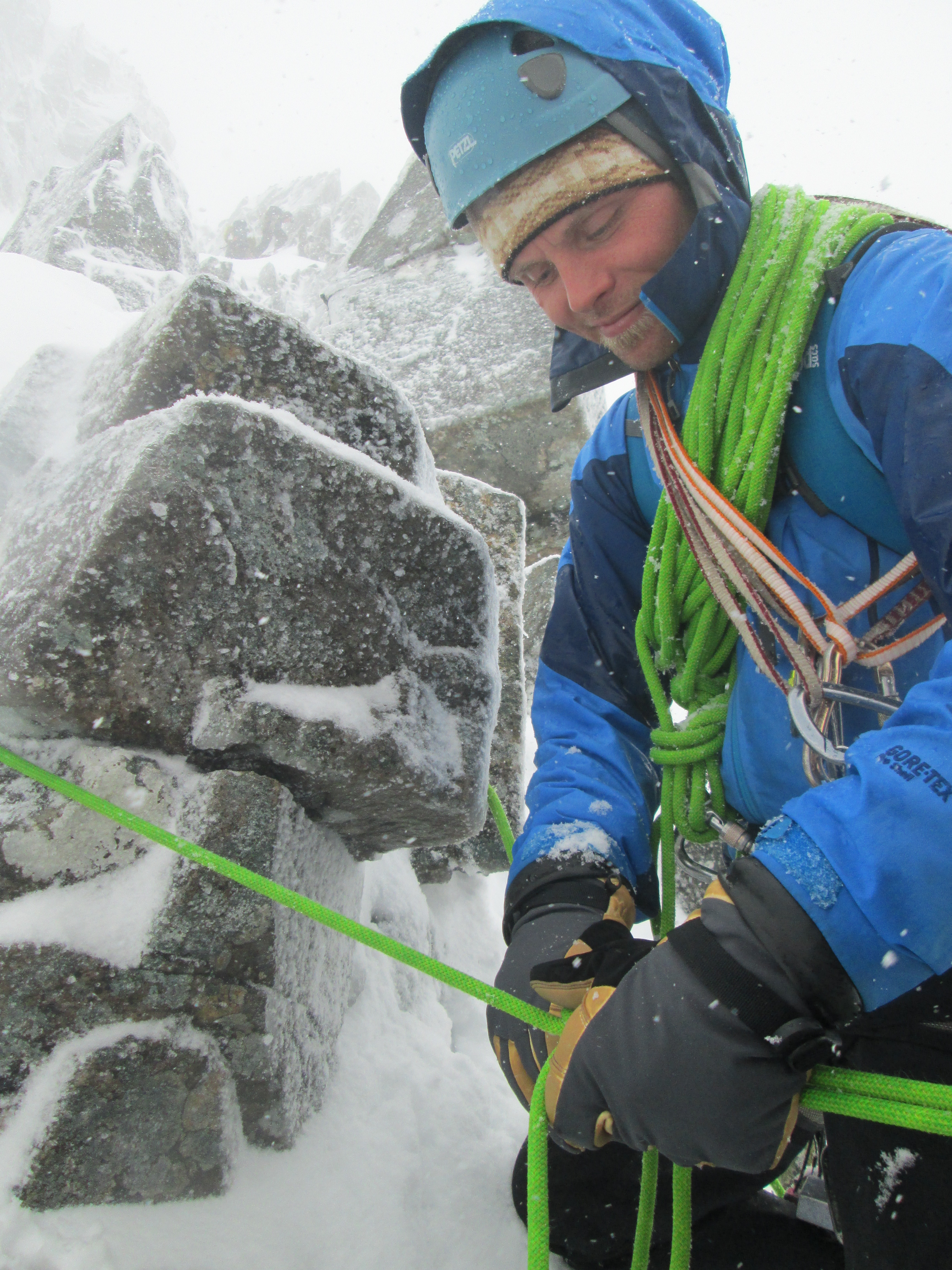 Choosing kit & gear for Scotland winter mountaineering