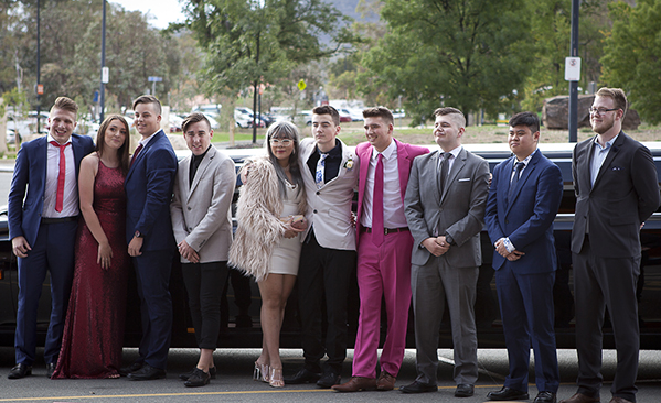 Students pictured at the Year 12 Formal 2