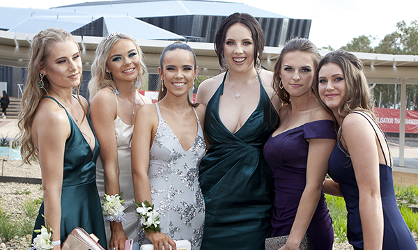 Students pictured at the Year 12 Formal 1