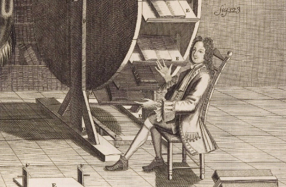 This is what a 16th century e-reader looked like
