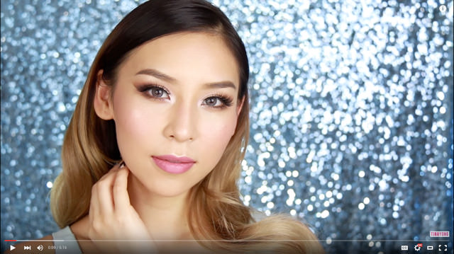 Watch Tina's Valentine's makeup tutorial