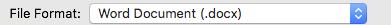 File format box
