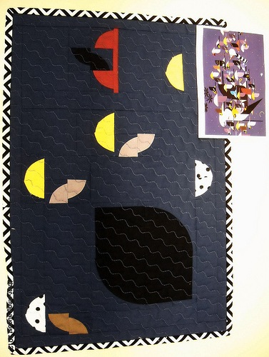 """""""Mystery of the Missing Migrants"""" Inspired Quilt"""