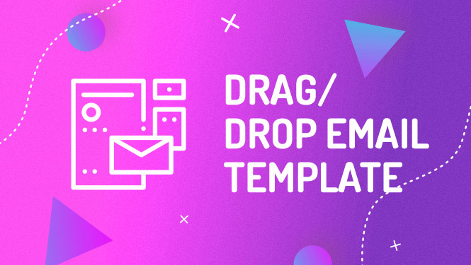 Mailchimp drag and drop email template design