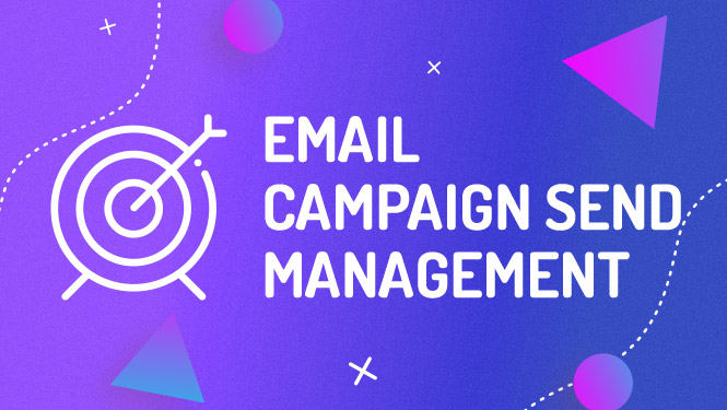 Mailchimp email campaign send management