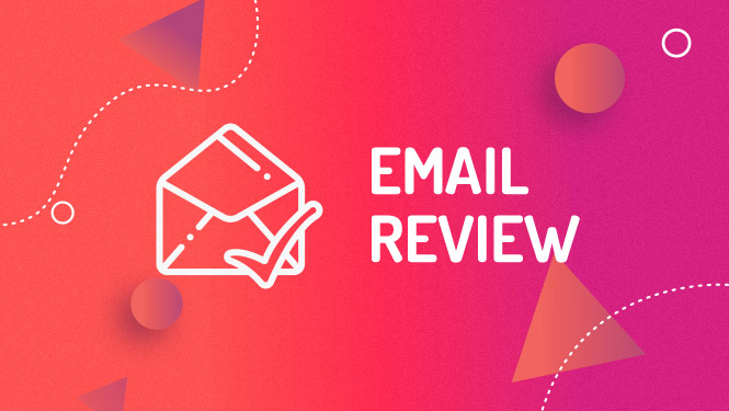 Mailchimp email campaign review