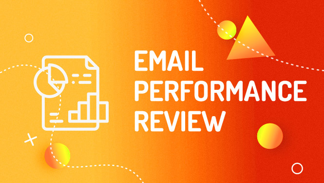 Mailchimp email campaign performance review