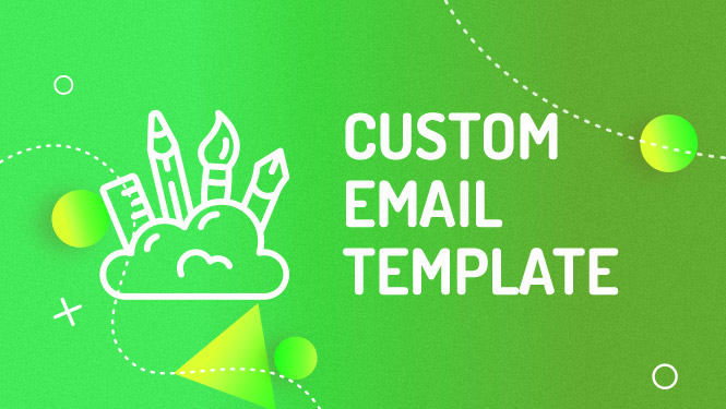 Custom email template for Mailchimp