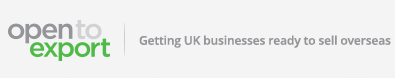 Open to Export - Getting UK businesses ready to sell overseas