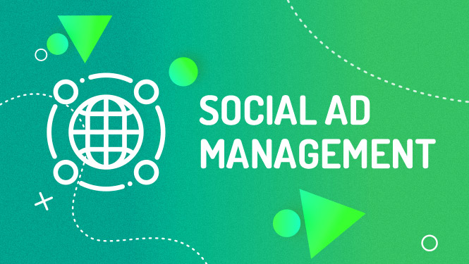 Social ad management