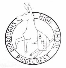 1963 Burroughs High Logo