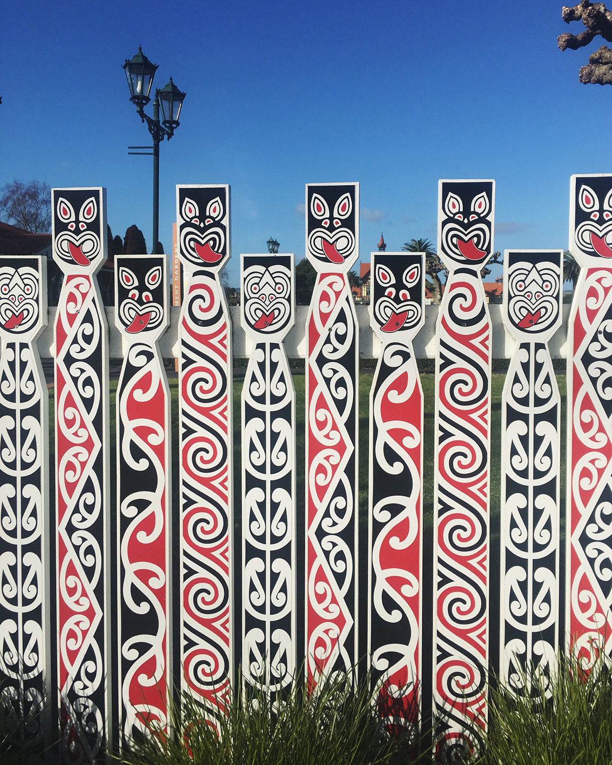 RAD AND HUNGRY: STMT X New Zealand, Rotorua Museum Fence