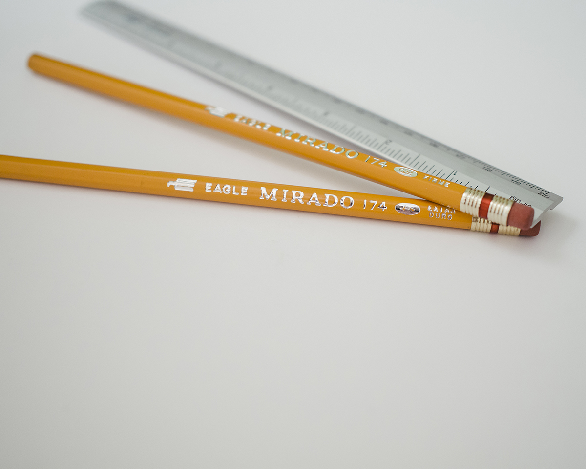 RAD AND HUNGRY: Vintage Eagle Mirado Pencils