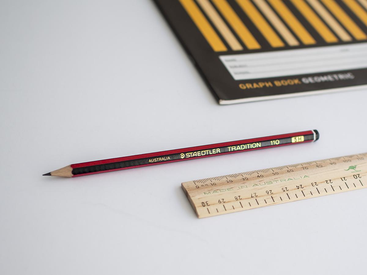 Vintage pencil in STMT x Australia