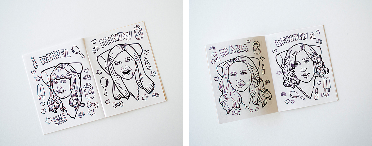 RAD AND HUNGRY: Pizza Coloring Book by Betty Turbo