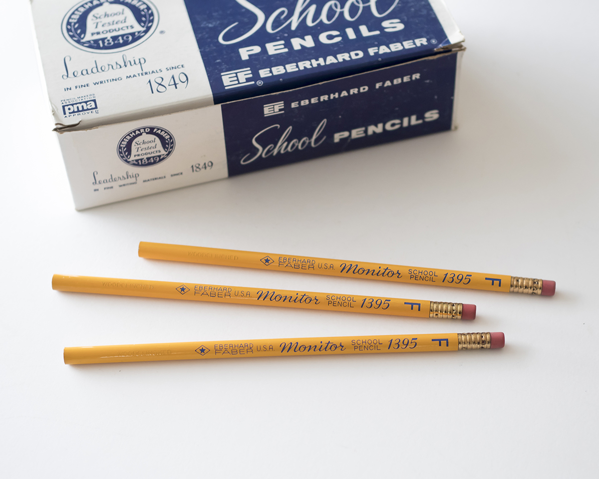 Eberhard_Faber_Monitor_1395_School_Pencil_RAD_AND_HUNGRY