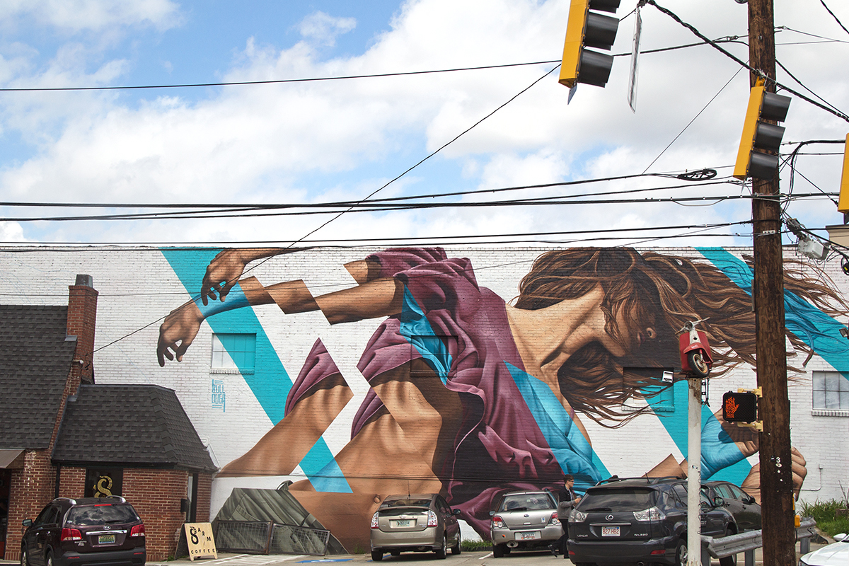 RAD AND HUNGRY: 8ARM Mural, Spot Check