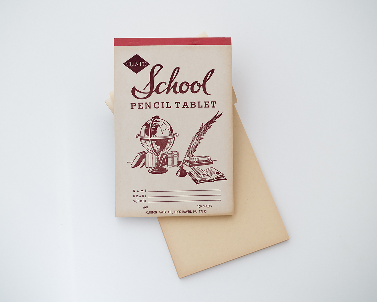 School_Pencil_Tablet_Note_Pad_RAD_AND_HUNGRY