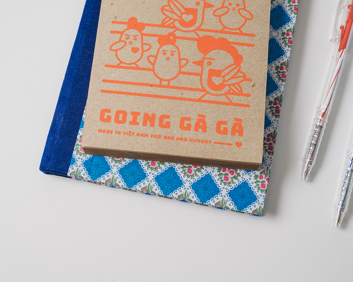 RAD AND HUNGRY: Goin' Ga Ga Note Pad 2