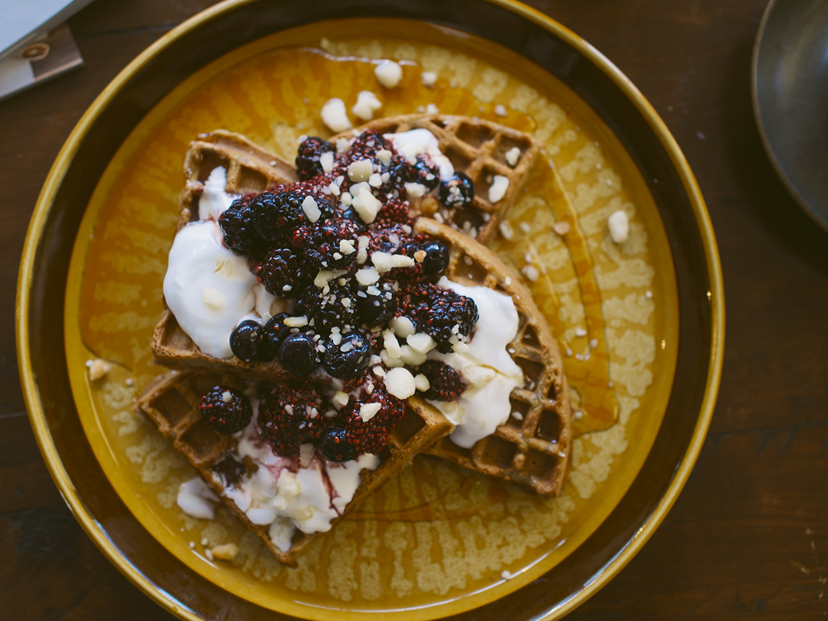 RAD AND HUNGRY: Mondays Journal Waffles
