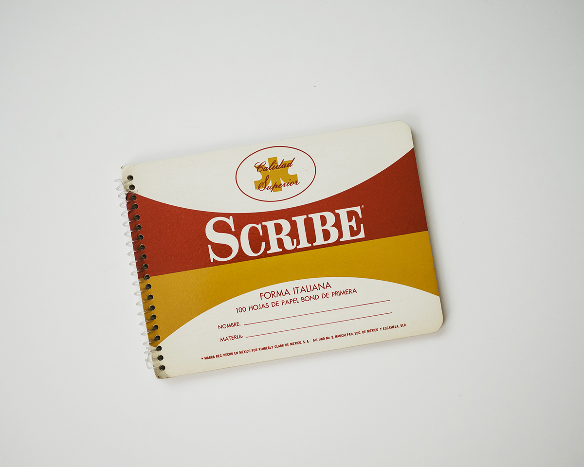 RAD AND HUNGRY: Vintage Scribe Notebooks