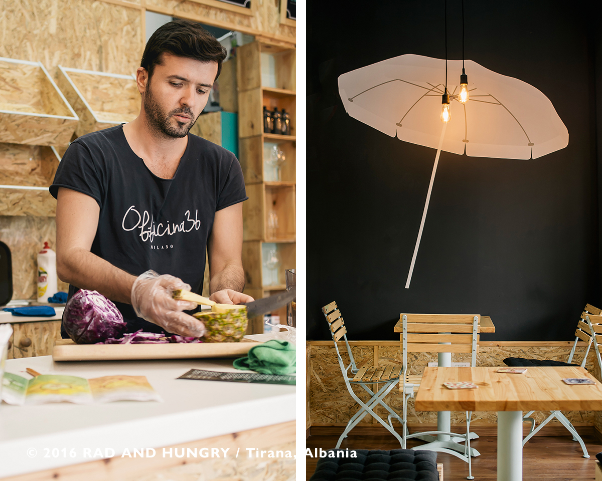 RAD AND HUNGRY: Coelho Juice Bar, Albania 3
