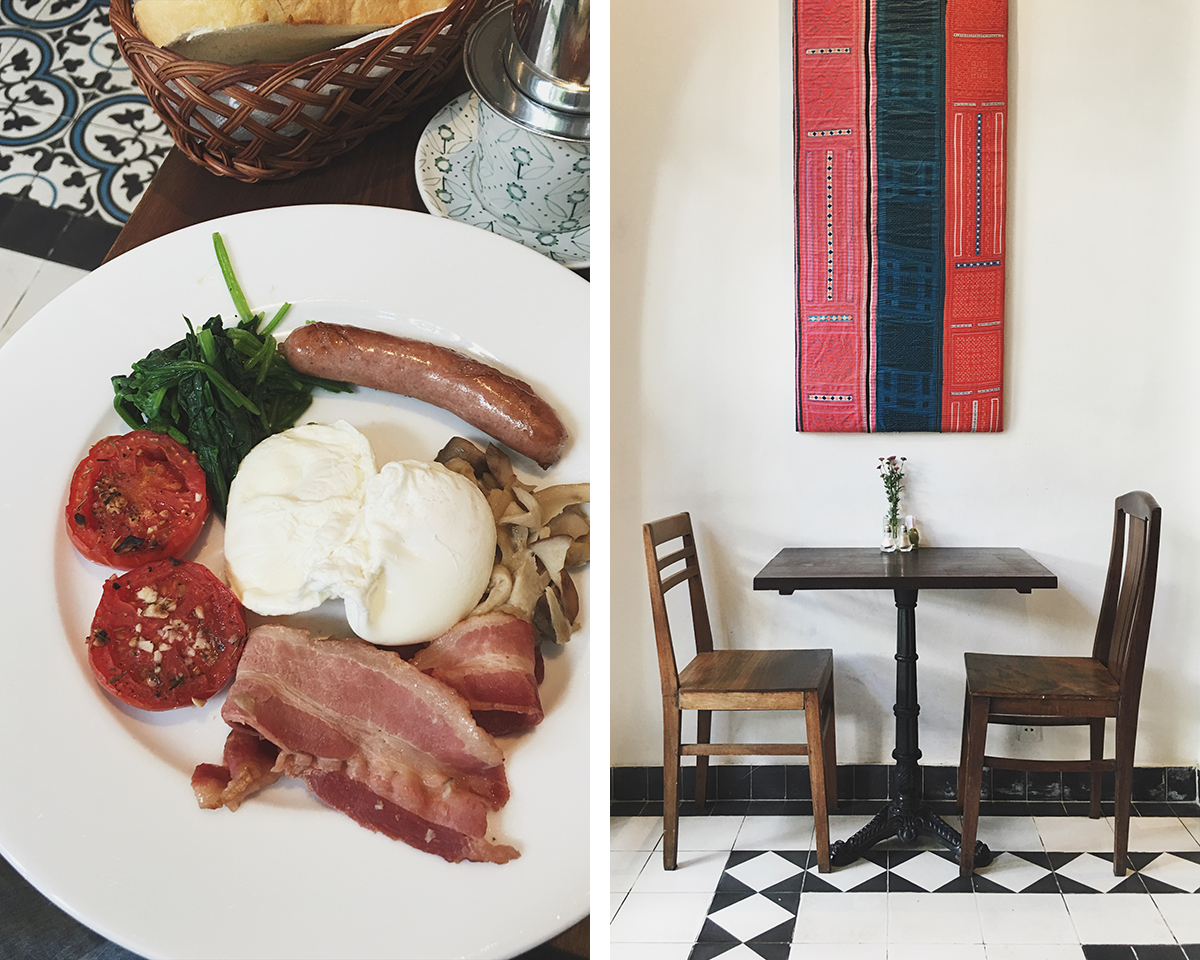 RAD AND HUNGRY: English breakfast at Vintage Emporium in Ho Chi Minh City, Vietnam