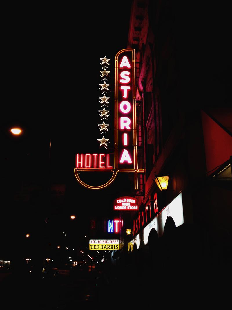 RADANDHUNGRY Hotel Astoria, Vancouver, Canada