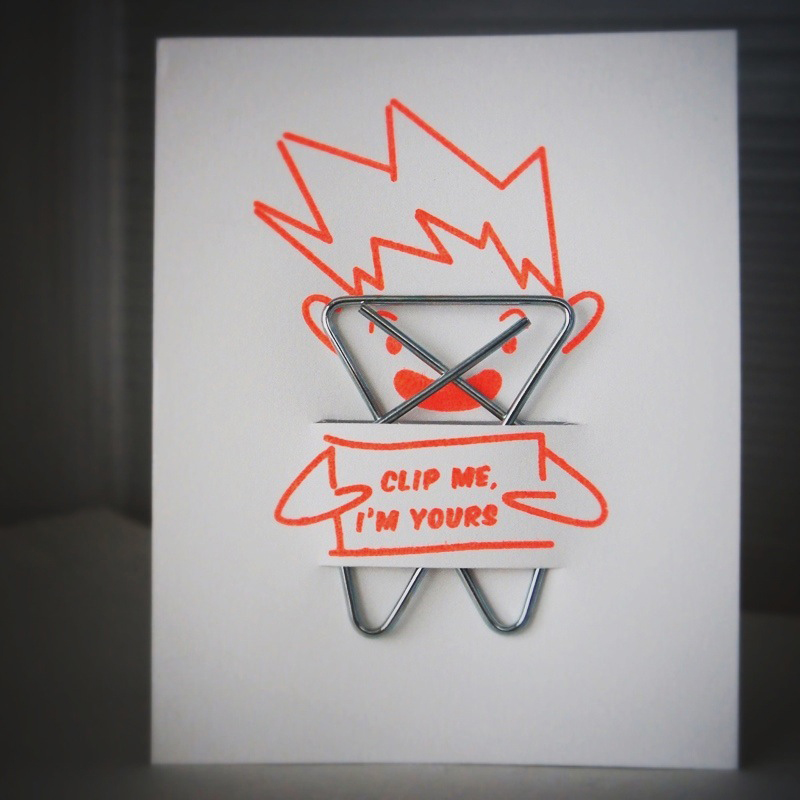 RAD AND HUNGRY Cupid Card