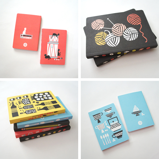 RAD AND HUNGRY Polkka Jam Notebooks