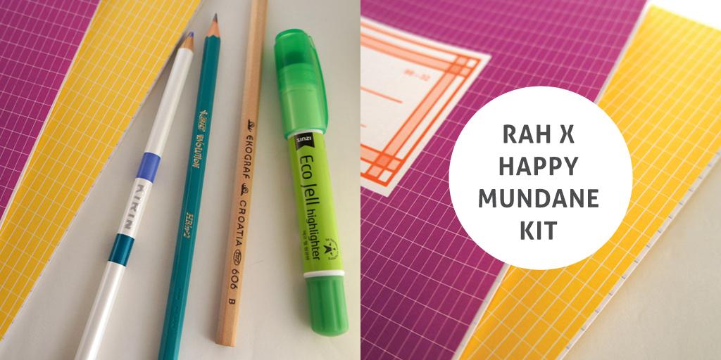 RAD AND HUNGRY, RAH X Happy Mundane Kit