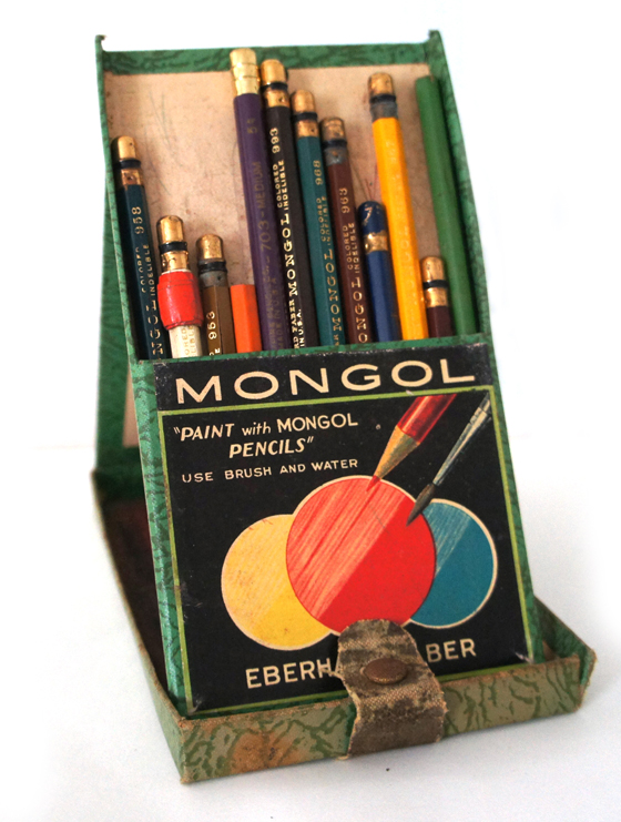 RAD AND HUNGRY Vintage Mongol Pencil Set