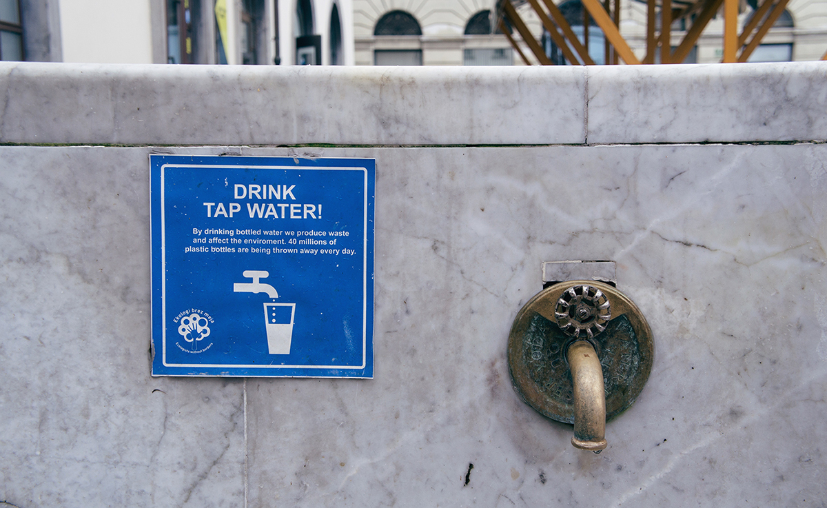 RAD AND HUNGRY Ljubljana's Drink Tap Water Campaign