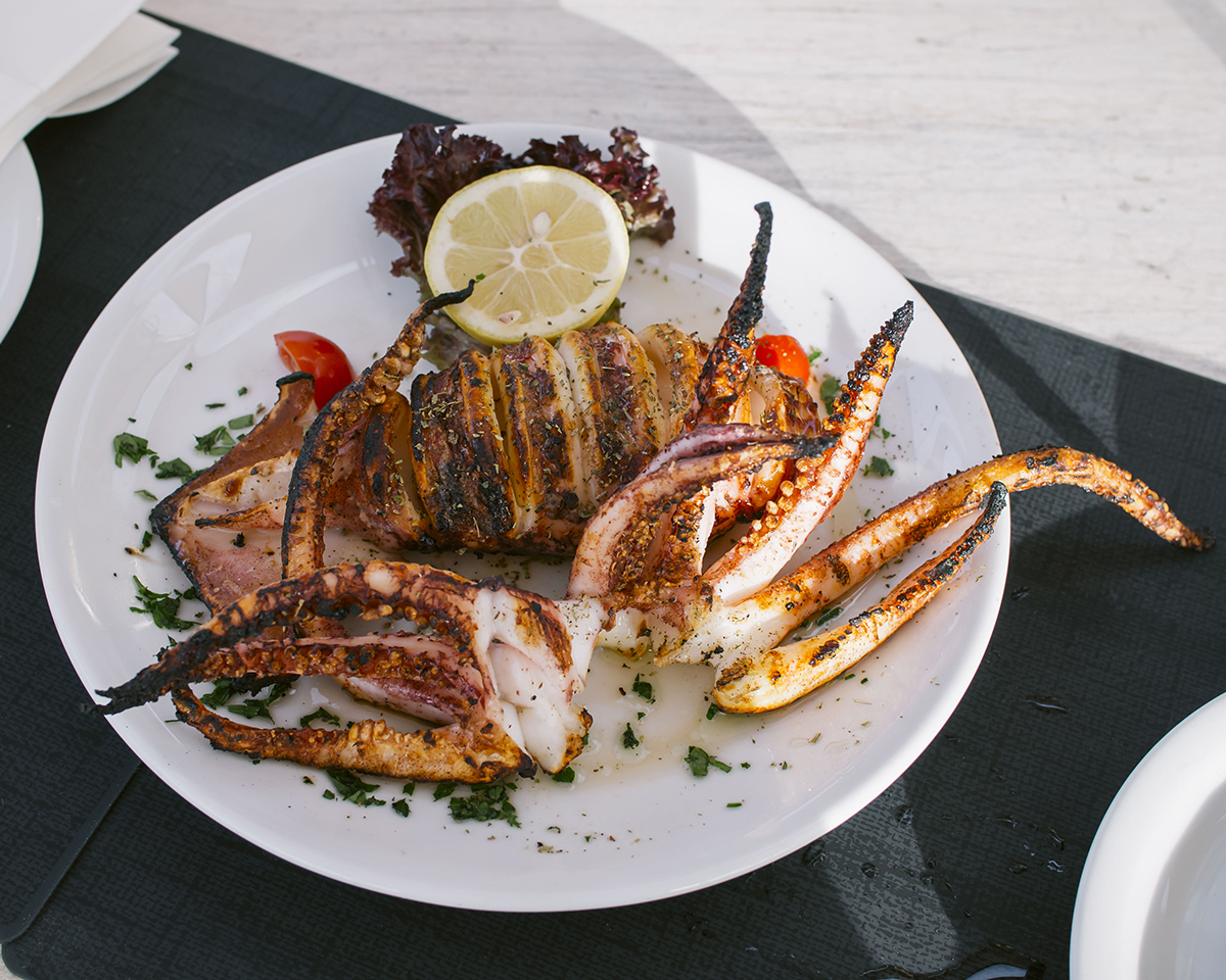 RAD AND HUNGRY: Grilled Squid