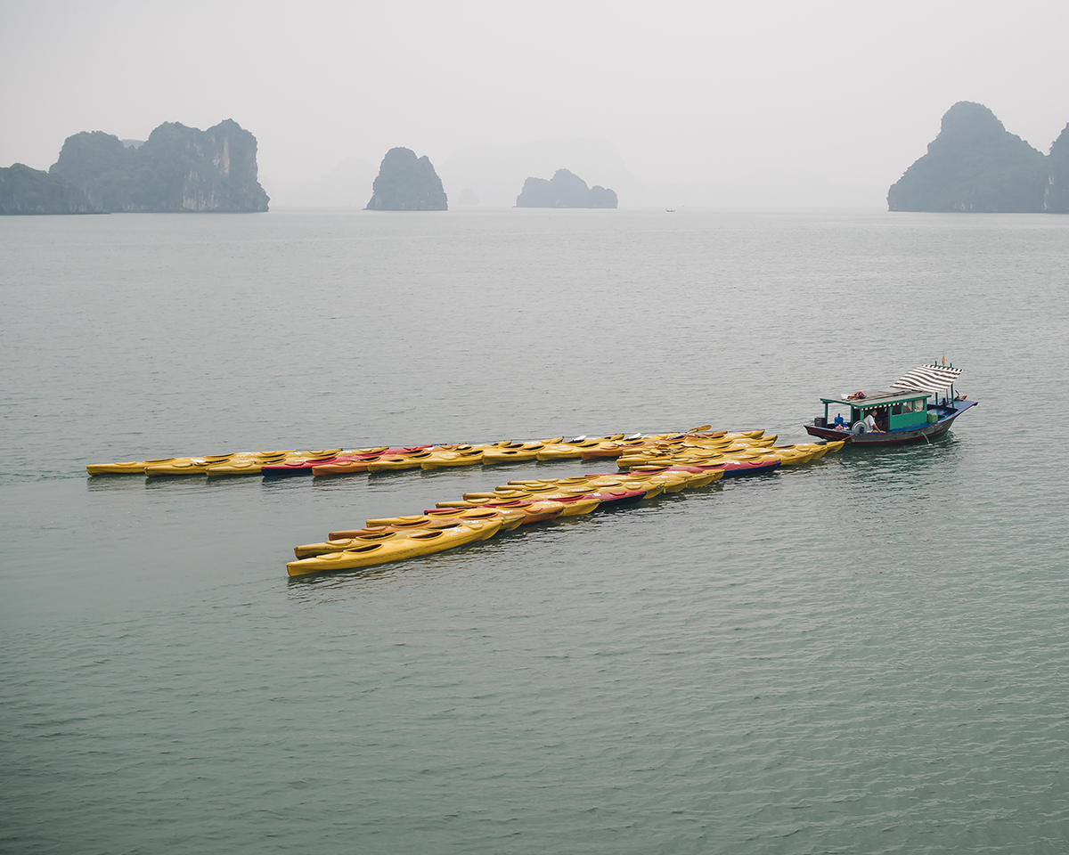 RAD AND HUNGRY: Kayaks in Halong Bay