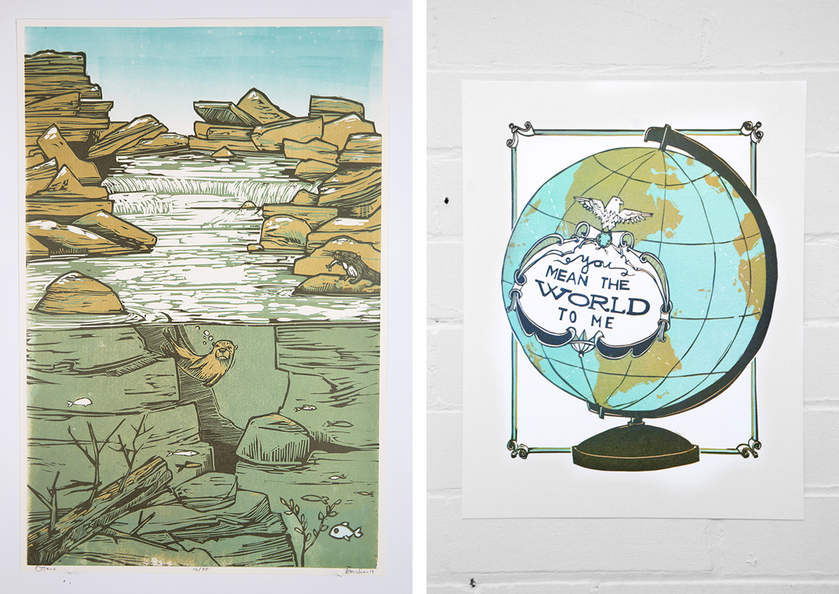 Prints by Laura Baisden