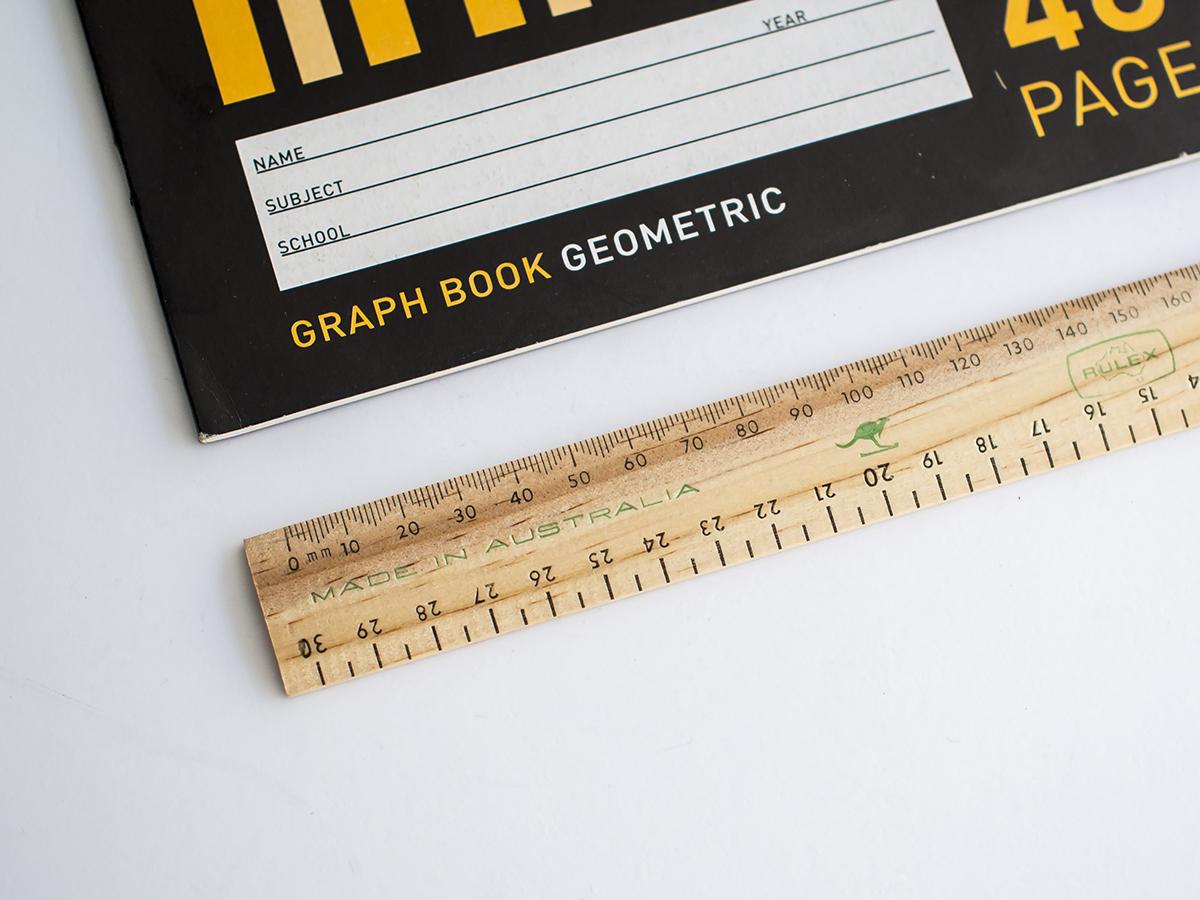 Vintage ruler in STMT x Australia
