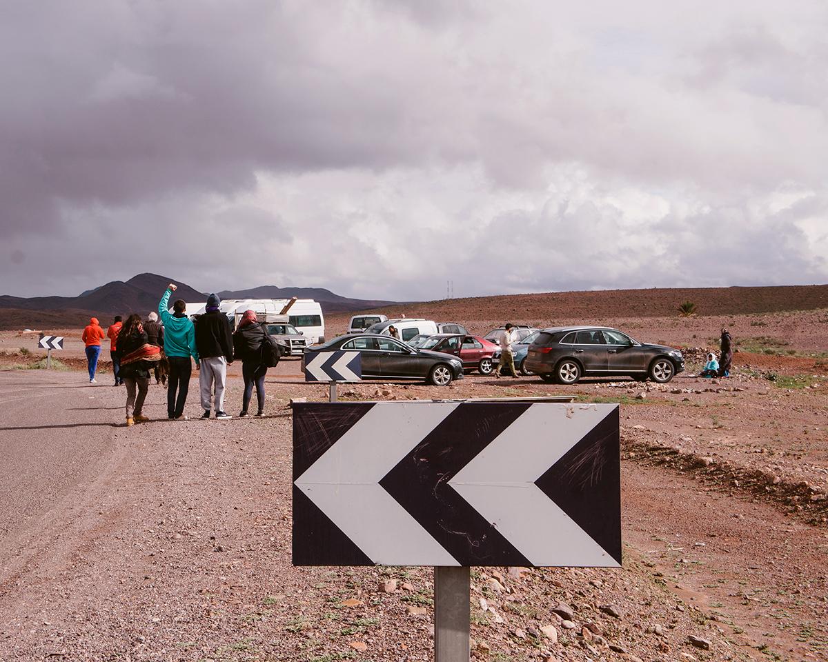 Zagora to Ouarzazate, Morocco