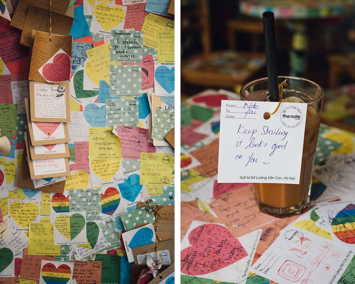 RAD AND HUNGRY: Note Coffee Cafe Hanoi B